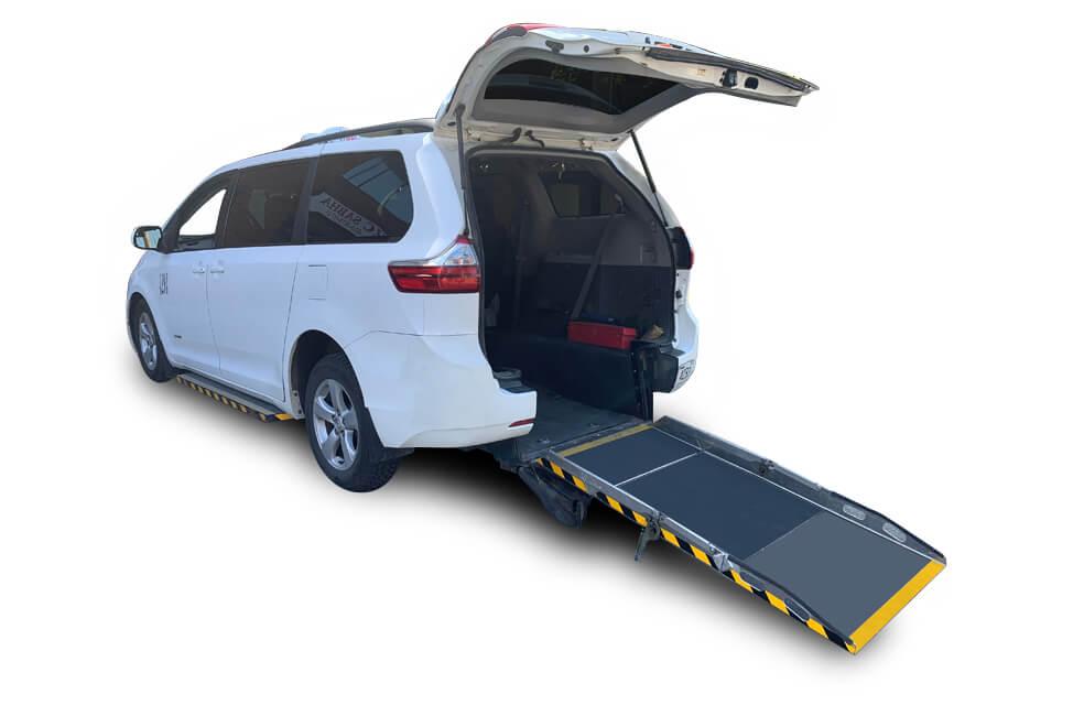 Wheelchair accessible van